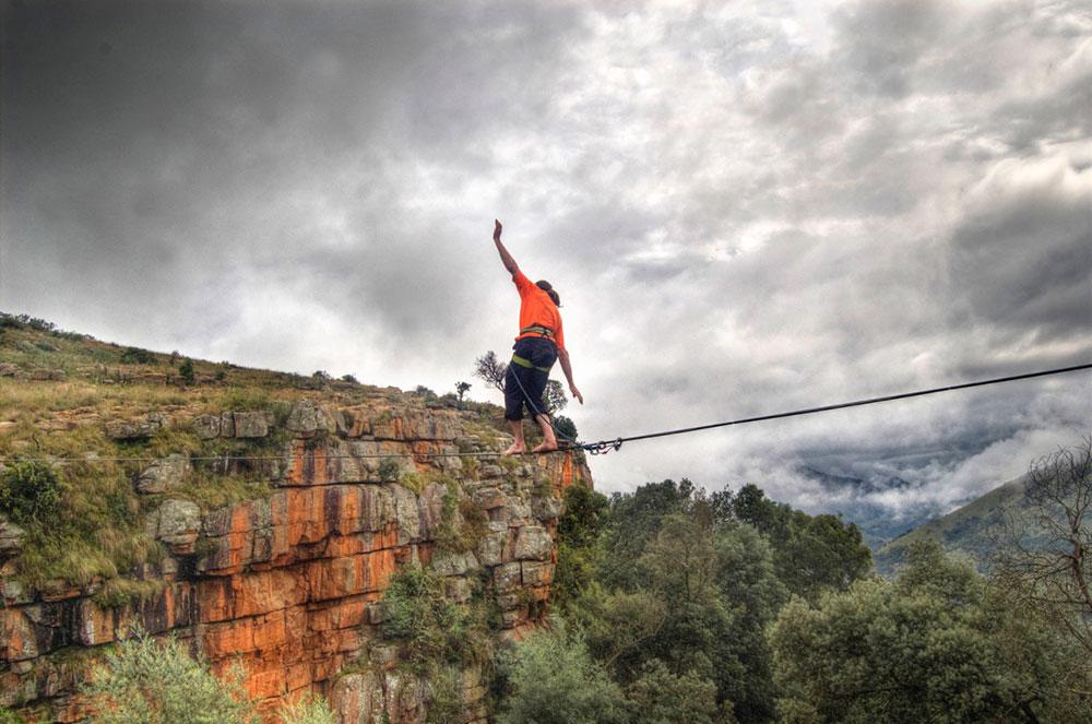 Waterval Boven Highline