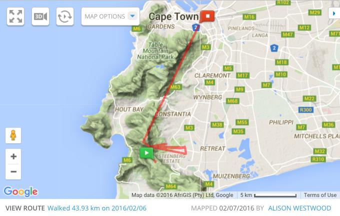 Map My Run follows me home like a neurotic stalker