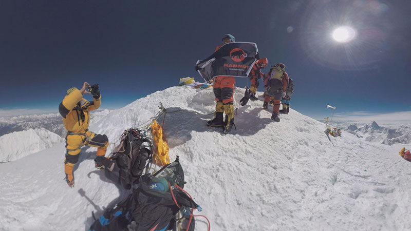 A panorama from the top of Mount Everest - Google Earth Blog