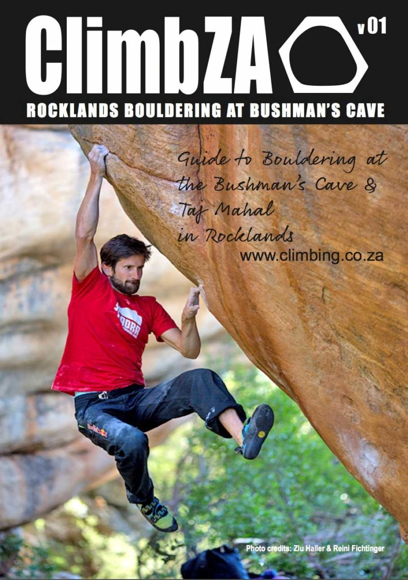 Guide to Bouldering at the Bushman's Cave & Taj Mahal in Rocklands