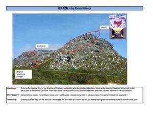 Cape Town Brazil Topside Bouldering