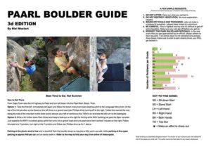 Paarl Bouldering Guide