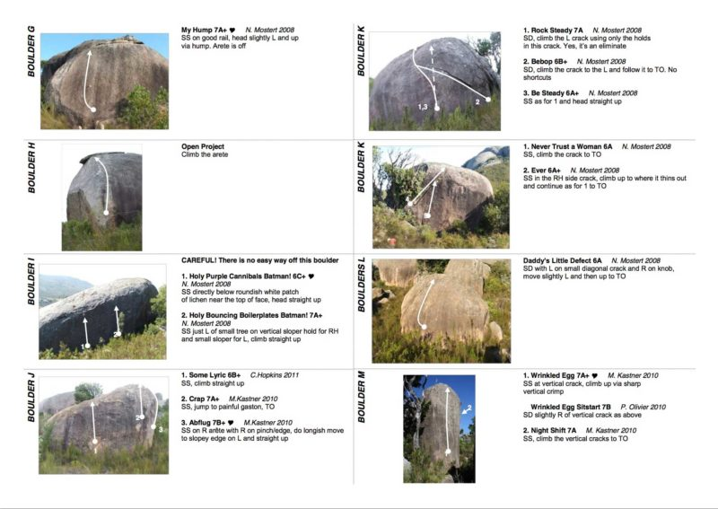 Paarl Bouldering Guide - page 4