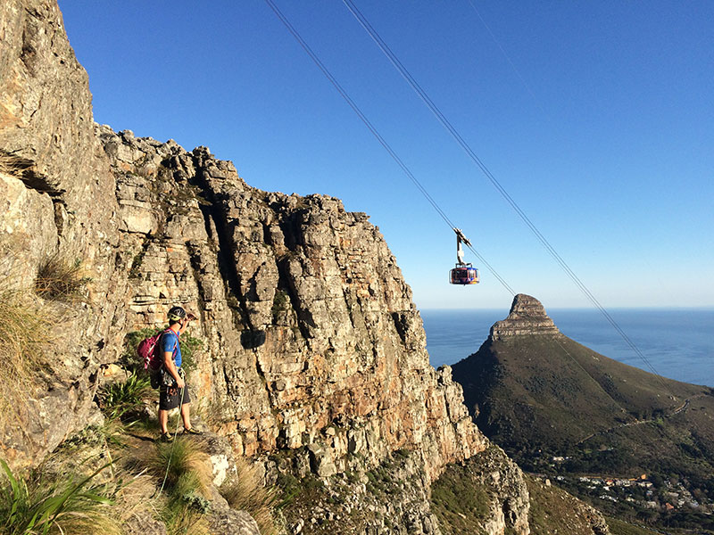 Cape Town Climbing on Table Mountain