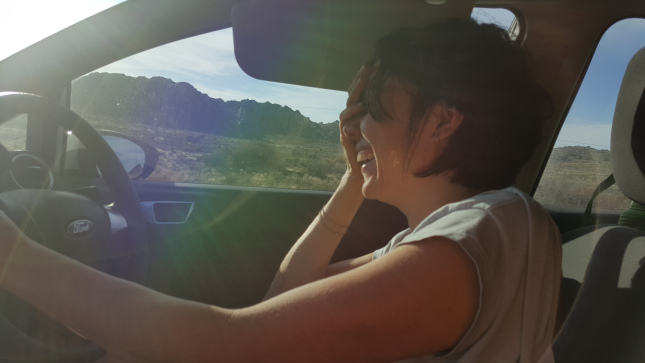 Driving through the Karoo is intense🙂 Especially when w're laughing so hard