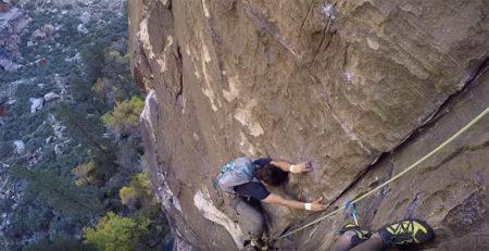 Solo Free Climber