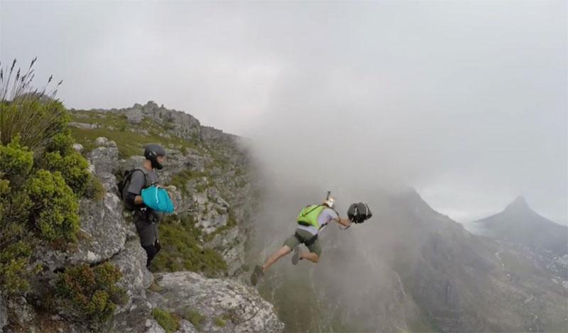 Table Mountain BASE Jump