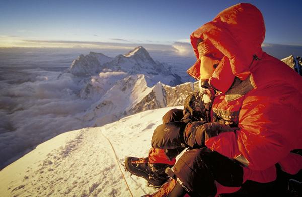 """Warming up at 28,000 feet"". Photo by Didrik Johnck."