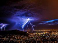 Lightning safety mountain climbing