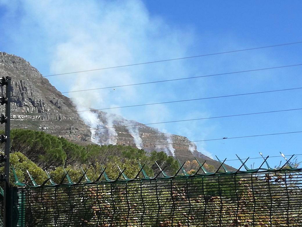 table mountain fire April 2018