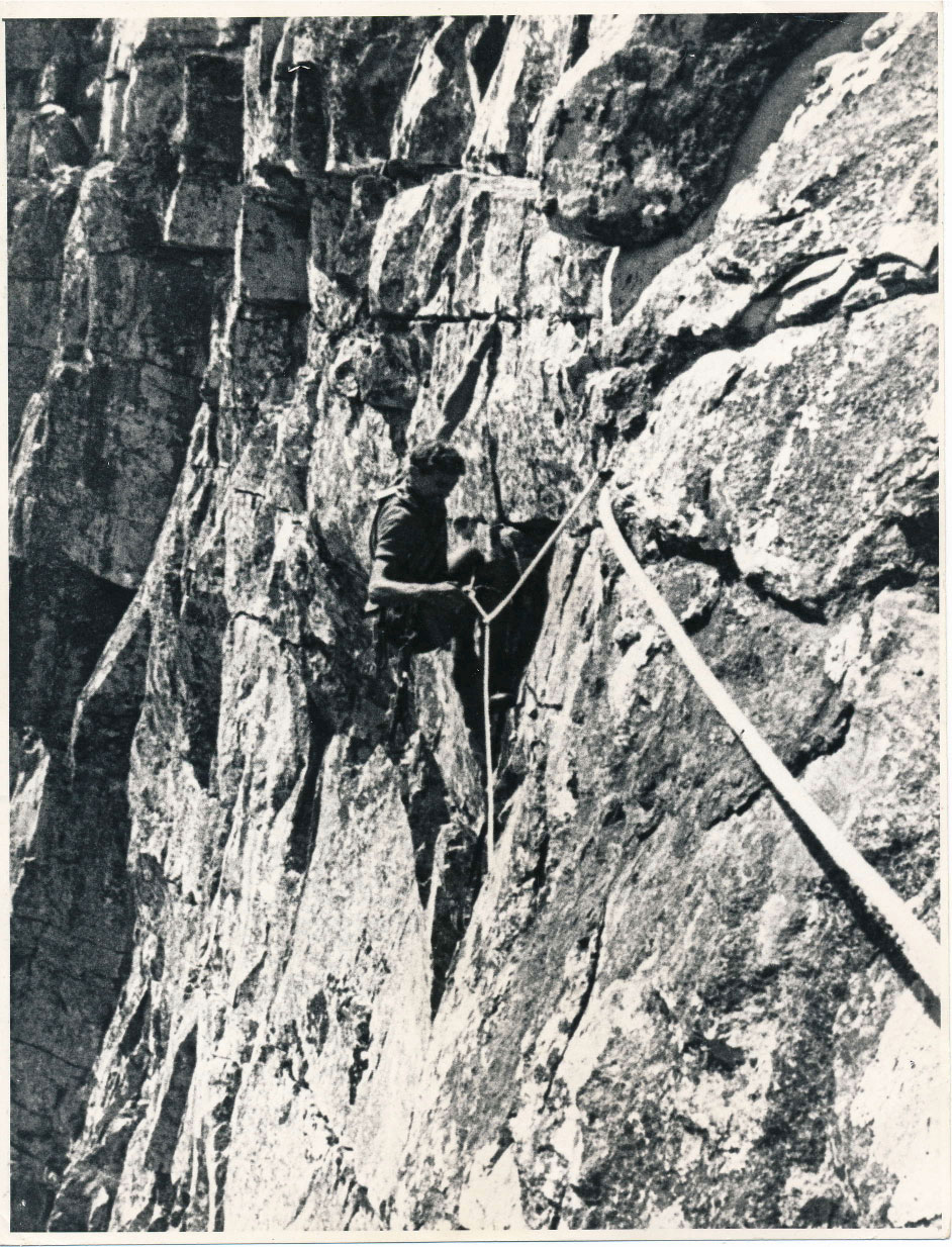 Table Mountain Climbing history