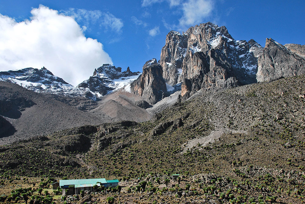 Mount Kenya hut