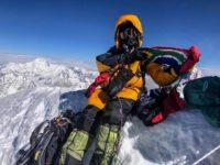 Saray Khumalo mount everest summit