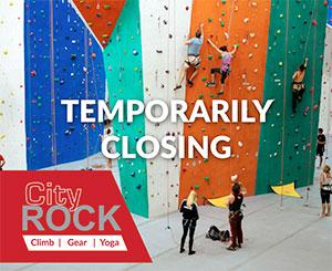 CityROCK temporary Closure 2020