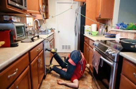 climbing accident kitchen