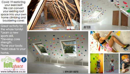 Loft Space Indoor Climbing