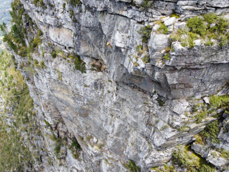 Fernwood Face, Rock Climbing, Table Mountain, Cape Town