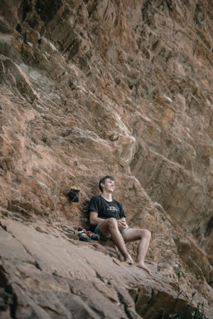 Matt Grunewald free solo