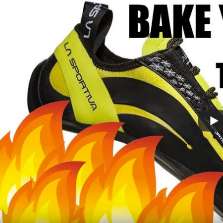 Bake shoes oven